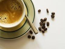 Une cuvette de café Image stock