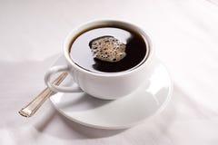Une cuvette de café Photo stock
