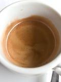 Une cuvette de coffe Image libre de droits