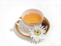 Une cuvette de thé Photos stock