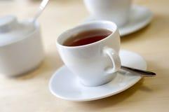 Une cuvette de thé Images libres de droits