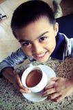 Une cuvette de thé Image libre de droits