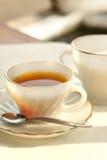 Une cuvette de thé en soirée Photo libre de droits