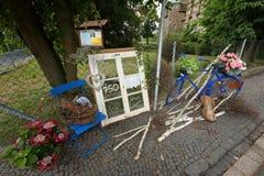 Une décoration de jardin photographie stock libre de droits