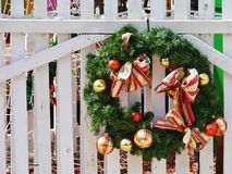 Une décoration de Noël d'été Image stock