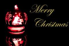 Une décoration plus lumineuse de Noël Images stock
