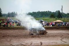 Une démolition Derby à un état juste au Minnesota Photo libre de droits