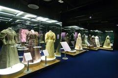 Une dame de type : costumes et verticales américains Images libres de droits