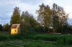 Une datcha dans la région de Moscou Photo libre de droits