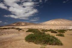 Une de beaucoup de plages sur Fuerteventura Photographie stock libre de droits