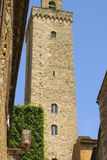 Une de tours de San Gimignano Photo libre de droits