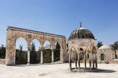 Entrée de l'Esplanade des mosquées Image libre de droits
