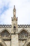 Détail de York Minster, R-U photo stock