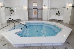 Une des piscines dans le Szechenyi Photo libre de droits