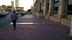 Une des rues principales à Amman, la Jordanie Photos libres de droits