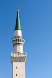 Une des tours à la mosquée de Nabawi Photographie stock