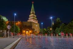 Une des tours de Moscou Kremlin, la Russie Photos stock