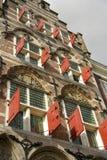 Une dix-septième maison de siècle Photo stock