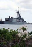 Une el acorazado naval de los estados Fotografía de archivo