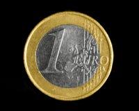 Une euro pièce de monnaie Photo stock
