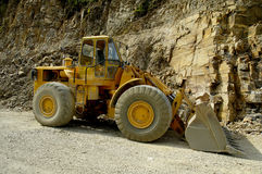 Une excavatrice - bêcheur Image stock