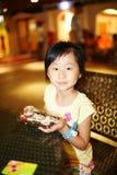 Une expérience chinoise de durée professionnelle de fille photographie stock