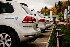 Une expérience tous terrains de Volkswagen Image stock