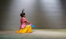 Une exposition de danse en Kuala Lumpur, Malaisie Photos libres de droits