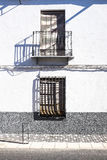 Une façade colorée Photo libre de droits