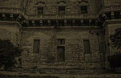 Une façade du 18ème siècle image libre de droits