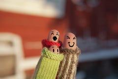 Une famille heureuse dans l'amour Photographie stock