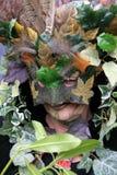 Une femme chez Jack dans le festival vert Images libres de droits
