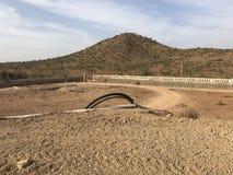 Une ferme dans la fabrication Photo libre de droits