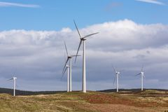 Une ferme de vent