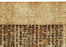 Une feuille antique Image libre de droits