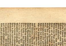 Une feuille antique Photo stock