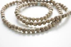 Une ficelle de bracelet de Bodhi Photographie stock