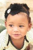 Une fille d'onze mois dans un tutu Photo libre de droits