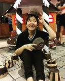 Une fille douce photo libre de droits