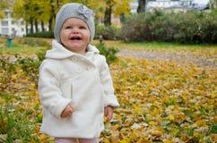 Une fille heureuse Photos stock