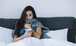 Une fille pendant le matin photo libre de droits