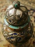 Une fin d'une belle et complexe urne Photographie stock libre de droits
