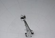 Une fin de Lovell Telescope à la banque de Jodrell images stock
