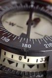 Une fin vers le haut d'un compas de plongée Images stock