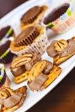 Décoration de gâteau de tasse Images stock