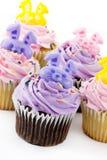 Décoration de gâteau de tasse Images libres de droits