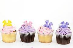 Décoration de gâteau de tasse Photo libre de droits