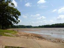Une fois un lac Photographie stock libre de droits