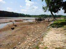 Une fois un lac Photo libre de droits