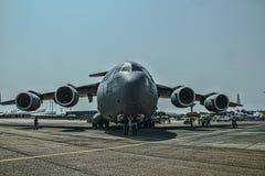 Une a força aérea Globemaster dos estados Fotografia de Stock Royalty Free